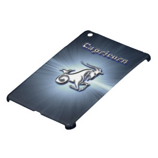 Chrome Capricorn iPad Mini Cover