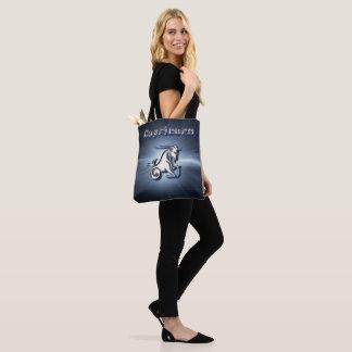 Chrome Capricorn Tote Bag
