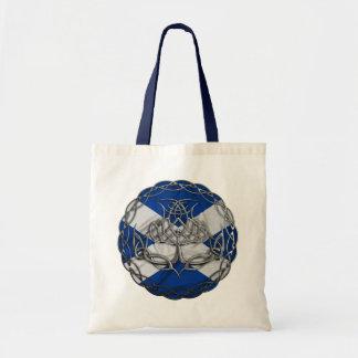 Chrome Celtic Knot Thistle Bags