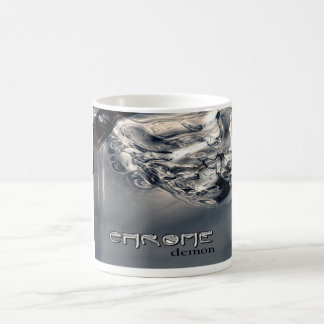 """Chrome Demon""  Mug"
