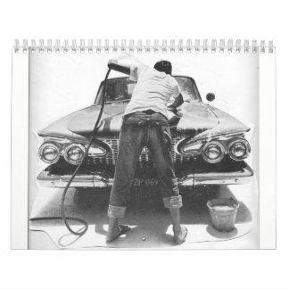 Chrome Fins & Big Cars Calendar