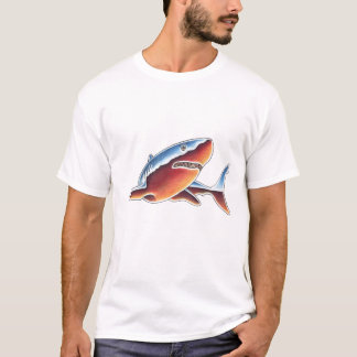 Chrome Great White Shark T-Shirt