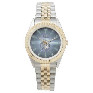 Chrome Leo Watch