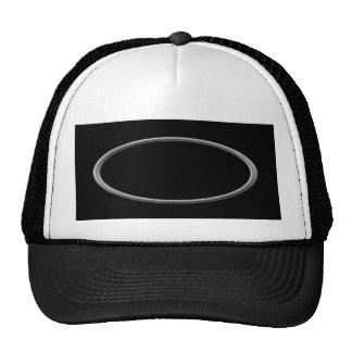 Chrome on Black Trucker Hat