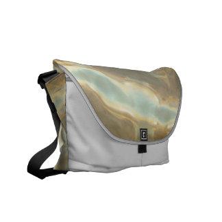 Chrome Pattern Rickshaw Messenger Bag
