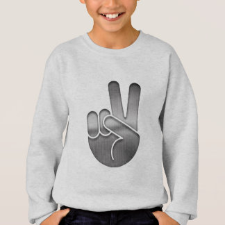 Chrome Peace hand Sweatshirt