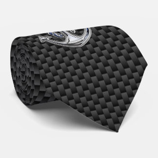 Chrome Rope Anchor on Carbon Fiber style  print Tie