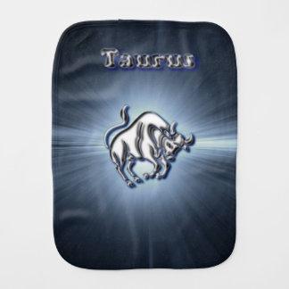 Chrome Taurus Burp Cloth