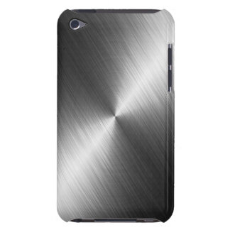 Chrome Texture iPod Case Barely There iPod Cover