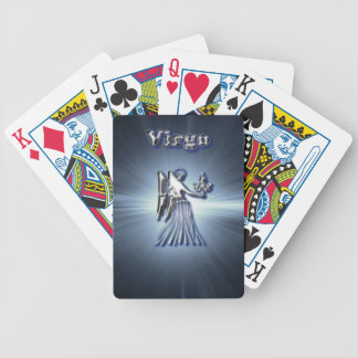 Chrome Virgo Bicycle Playing Cards