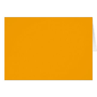 CHROME YELLOW (solid color) ~ Greeting Card