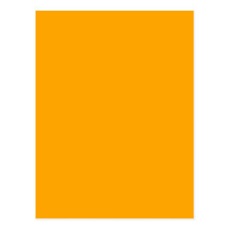 CHROME YELLOW (solid color) ~ Postcard