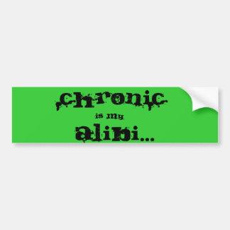Chronic Bumper Sticker