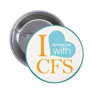 Chronic Fatigue Awareness Pinback Buttons