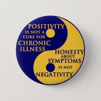 Chronic Illness Round Badge