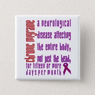 Chronic Migraine - Neurological Disease Button