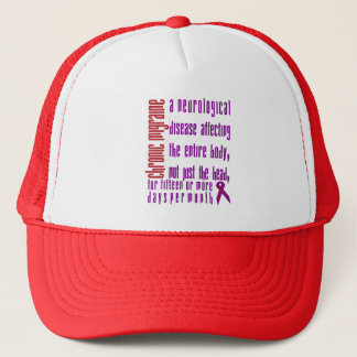Chronic Migraine - Neurological Disease Hat