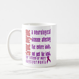 Chronic Migraine - Neurological Disease Mug Left