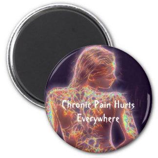 Chronic Pain Hurts Everywhere 6 Cm Round Magnet
