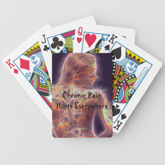 Chronic Pain Hurts Everywhere Playing Cards
