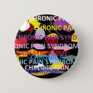 Chronic Pain Syndrome 6 Cm Round Badge