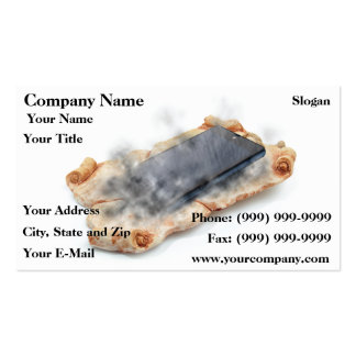 Chronology of communication business card template
