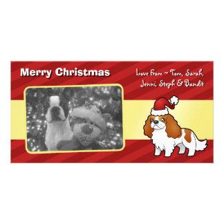 Chrstmas Cavalier King Charles Spaniel Card