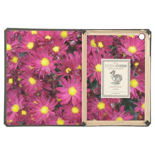 Chrysanthemum Cluster Garden Purple Case For iPad Air
