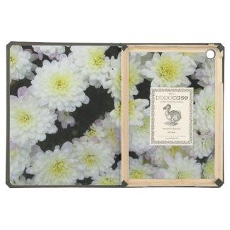 Chrysanthemum Cluster Garden White Case For iPad Air
