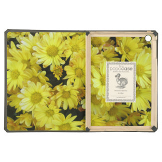 Chrysanthemum Cluster Garden Yellow Cover For iPad Air