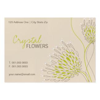 Chrysanthemum Flowers Floral Elegant Chic Business Business Card