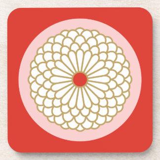 Chrysanthemum I Beverage Coaster