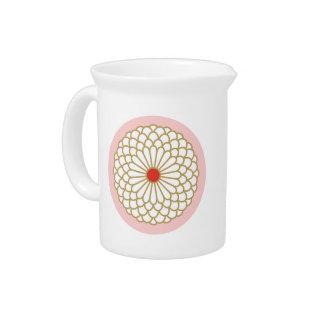 Chrysanthemum I Drink Pitchers