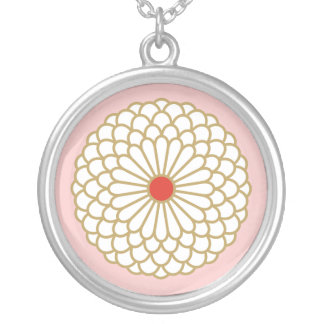 Chrysanthemum I necklace