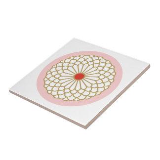Chrysanthemum I Tiles