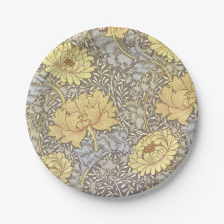 Chrysanthemum Paper Plates 7 Inch Paper Plate