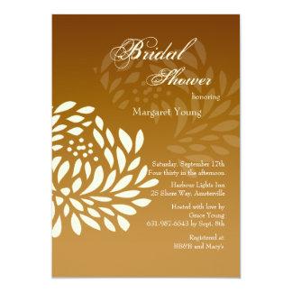 Chrysanthemum Shadow Bridal Shower Invitation