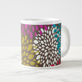 Chrysanthemum Splash Large Coffee Mug