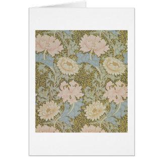 'Chrysanthemum' wallpaper, 1876 (wallpaper) Card