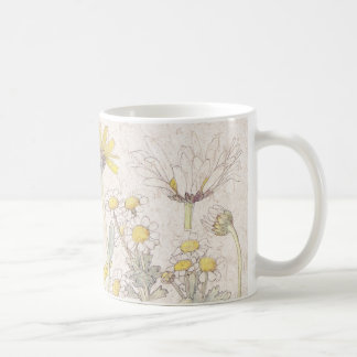 Chrysanthemum Wildflower Flowers Meadow Mug