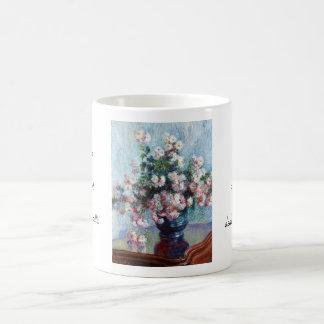 Chrysanthemums, 1882 Claude Monet Basic White Mug