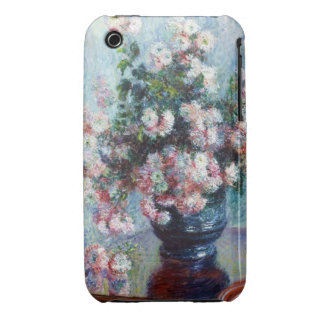 Chrysanthemums, 1882 Claude Monet iPhone 3 Case-Mate Case