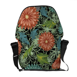 Chrysanthemums 3 commuter bags