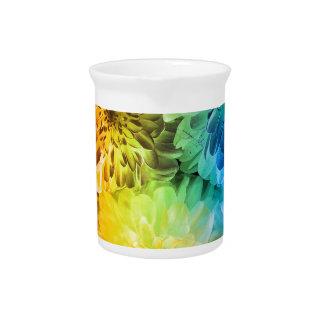 chrysanthemums pitcher