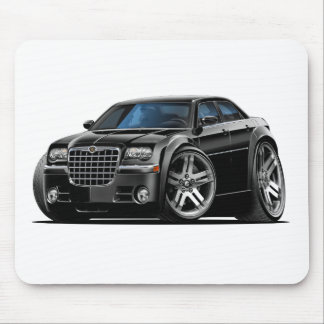 Chrysler 300 Black Car Mouse Pad