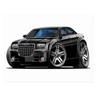 Chrysler 300 Black Car Post Cards