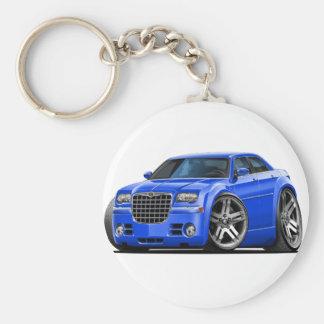 Chrysler 300 Blue Car Key Ring