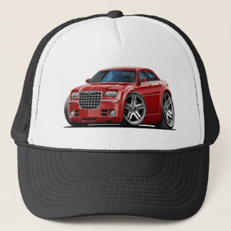 Chrysler 300 Maroon Car Trucker Hat
