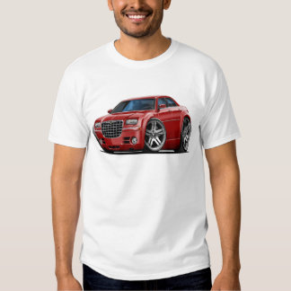 Chrysler 300 Maroon Car Tshirts