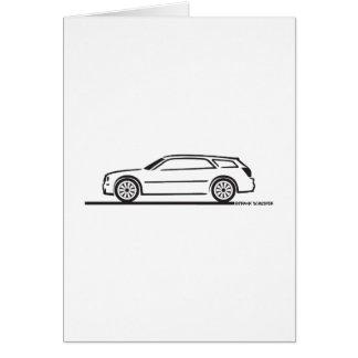 Chrysler 300 Station Wagon Greeting Cards